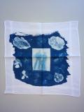 Blauwdruk zakdoek