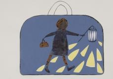 Meisje met koffer 07