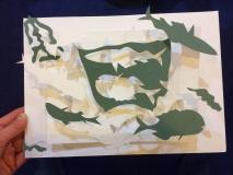 Papiersnijwerk vissen